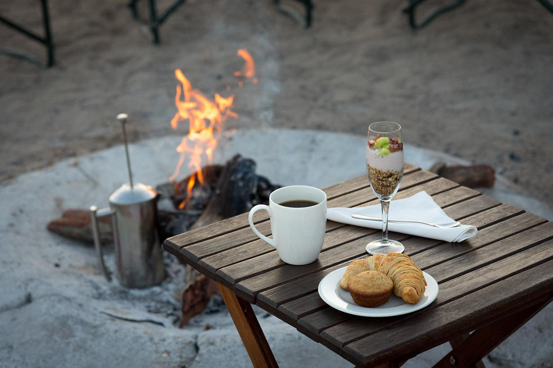 camp hwange hwange-national-park-zimbabwe-lodges-accommodation-true-african-bush-experience-camp-fire-coffee