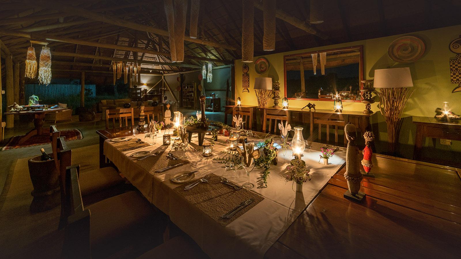 camp hwange hwange-national-park-zimbabwe-lodges-dining-room