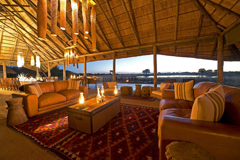 camp hwange hwange-national-park-zimbabwe-lodges-lounge