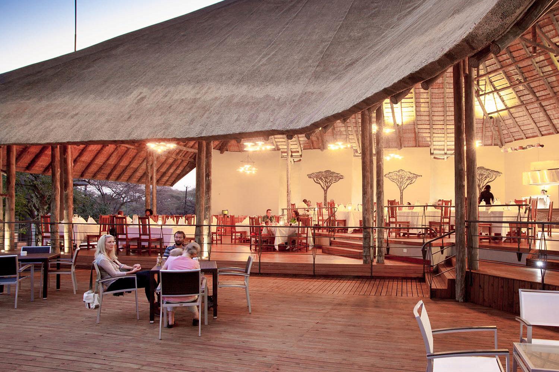 chobe bush lodge botswana-lodges-chobe-national-park-dining-area