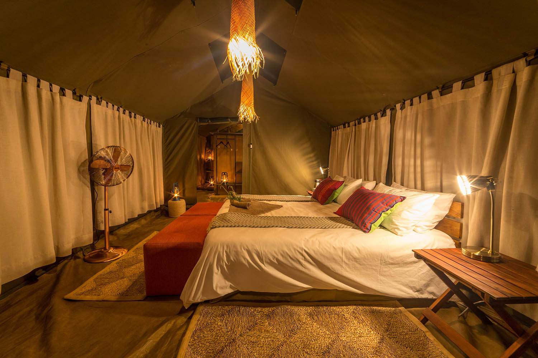 hwange bush camp hwange-national-park-zimbabwe-lodges-authentic-camp-tent-beds