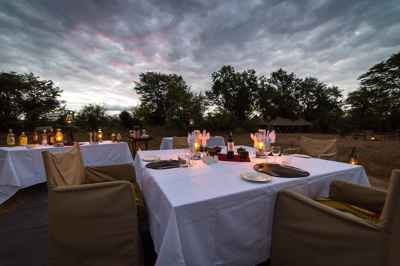 hwange bush camp hwange-national-park-zimbabwe-lodges-authentic-camps-bush-dinners