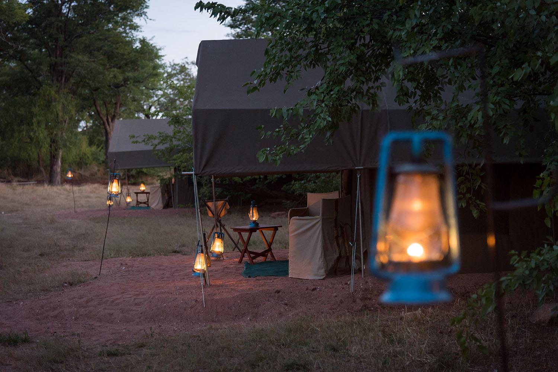 hwange bush camp hwange-national-park-zimbabwe-lodges-authentic-camps-tent-exteriors