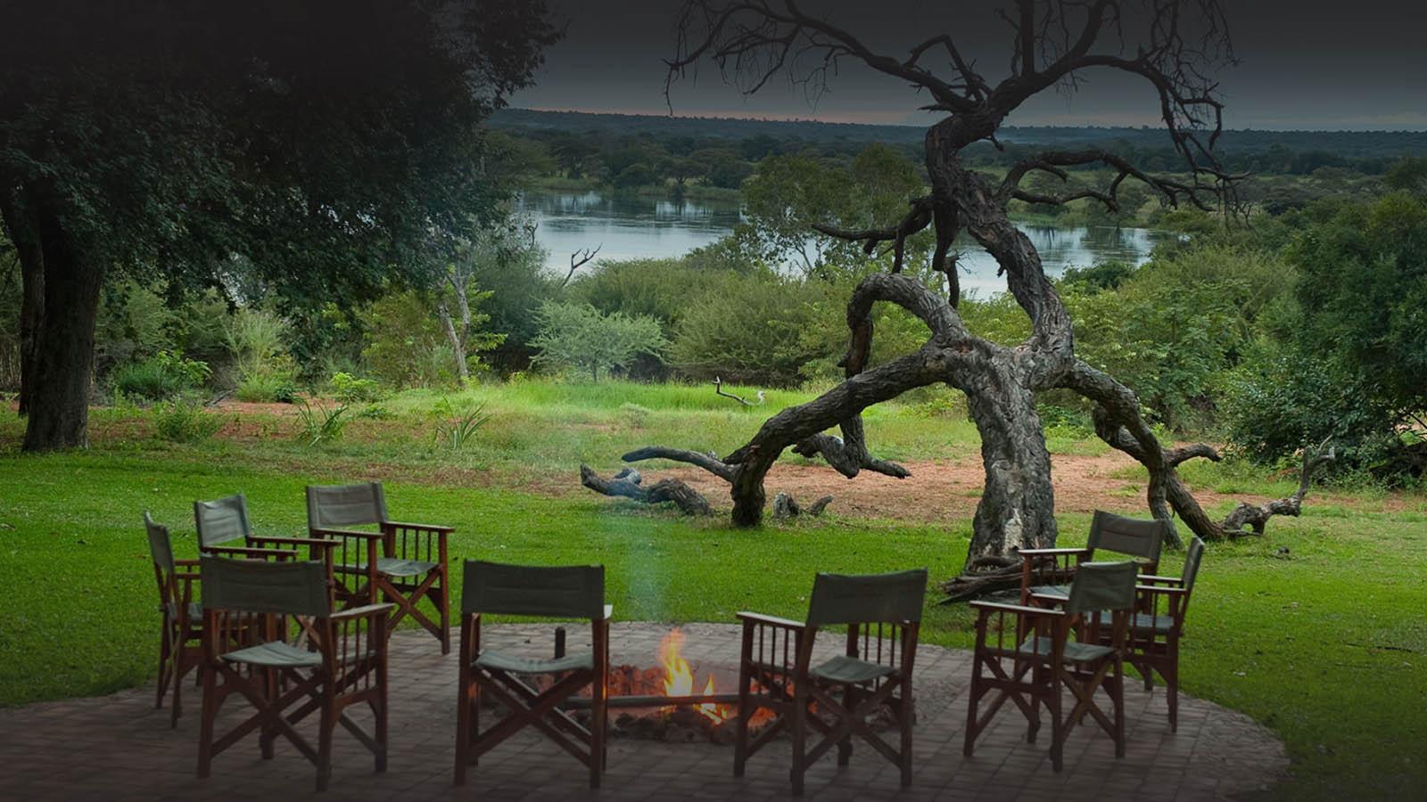 imbalala lodge victoria-falls-zambia-in-style-zimbabwe-lodges-accommodation-fire