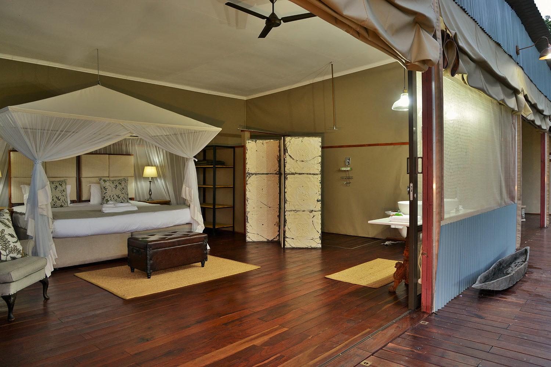 khulus retreat villa-hwange-national-park-zimbabwe-lodges-accommodation-bedroom-interior