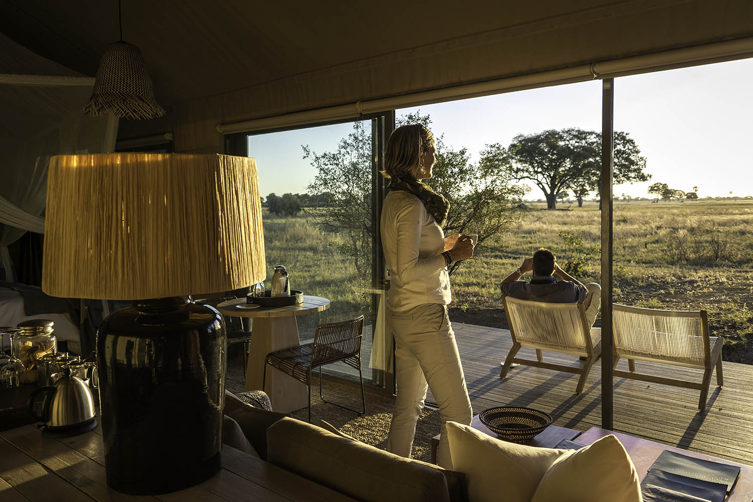 linkwasha camp hwange-national-park-zimbabwe-lodges-luxury-accommodation-wilderness-tea-lounge