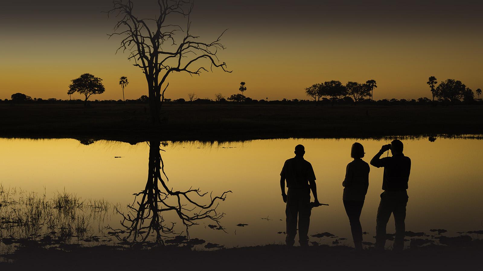 linkwasha camp hwange-national-park-zimbabwe-lodges-luxury-wilderness-sunset
