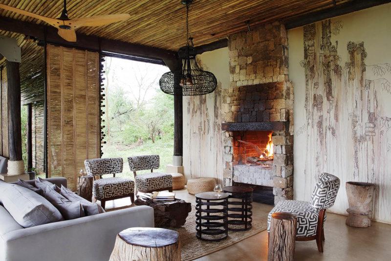 matetsi river lodge victoria-falls-zimbabwe-lodges-accommodation-west-camp-fireplace