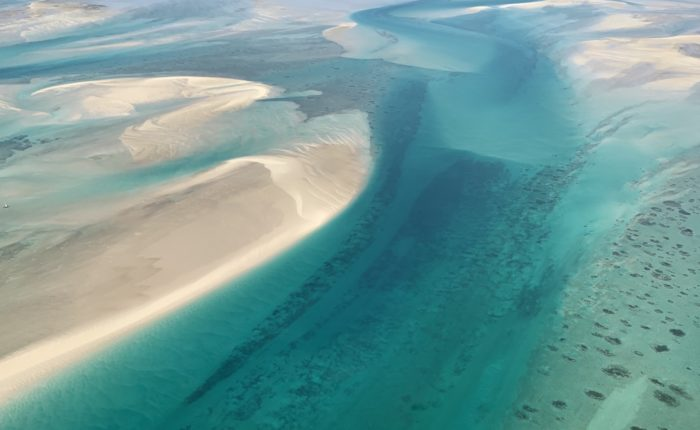 mozambique from the sky