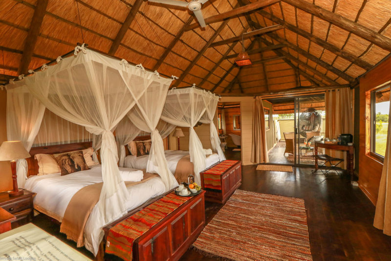 nehimba lodge imvelo-hwange-national-park-zimbabwe-accommodation-bedroom
