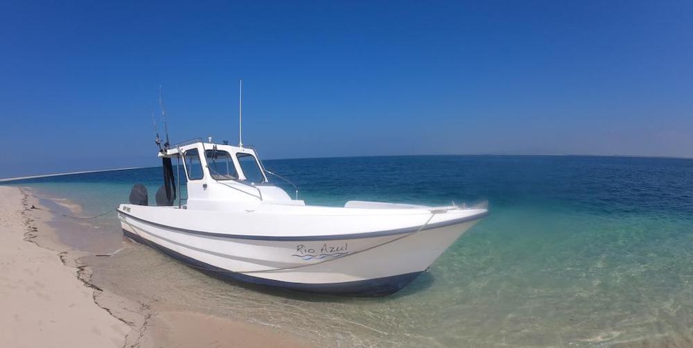 Rio Azul boat