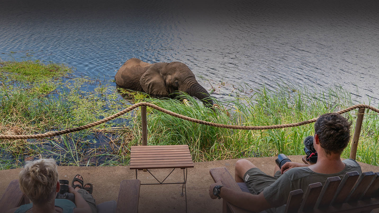 chongwe camp zambia-in-style-zambia-lodges-lower-zambezi-national-park-tents-wildlife-elephant-river