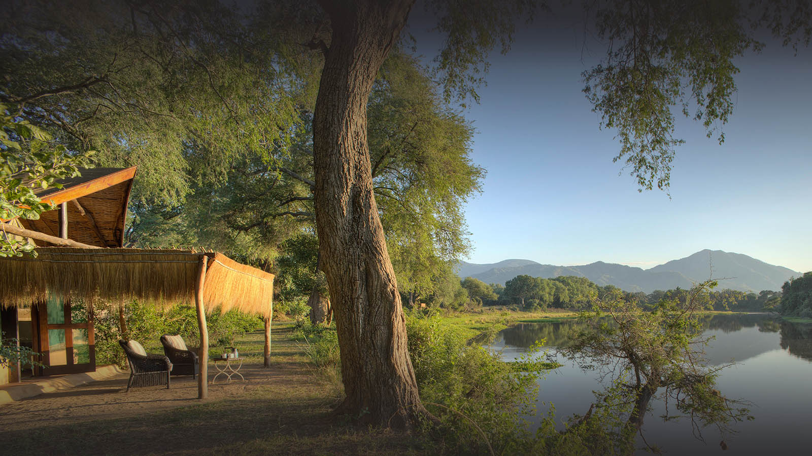 chongwe camp zambia-in-style-zambia-lodges-lower-zambezi-national-park-tents-wildlife-views
