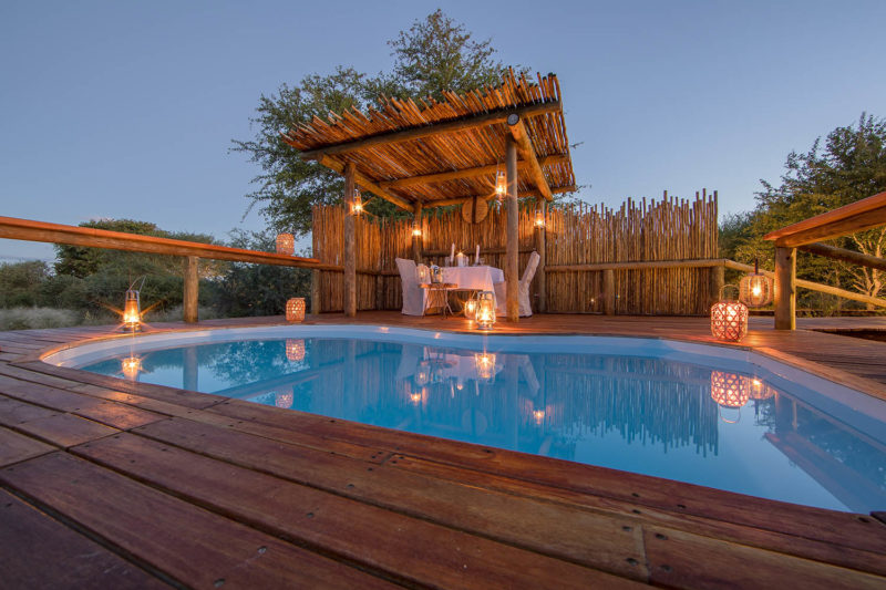 dinaka camp central-kalahari-game-reserve-safaris-botswana-lodges-zambia-in-style-pool