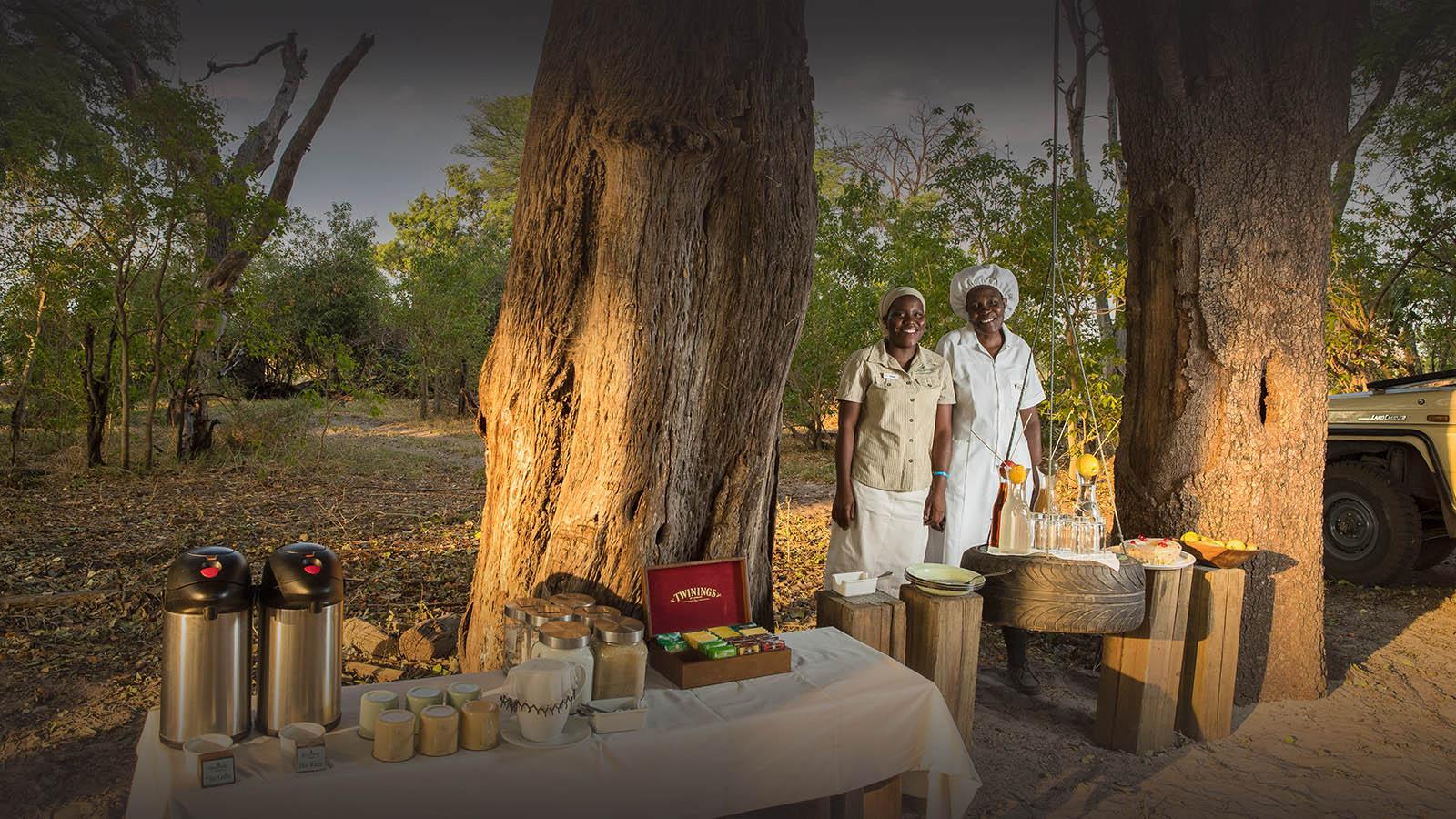 footsteps camp okavango-delta-botswana-lodges-zambia-in-style-breakfast