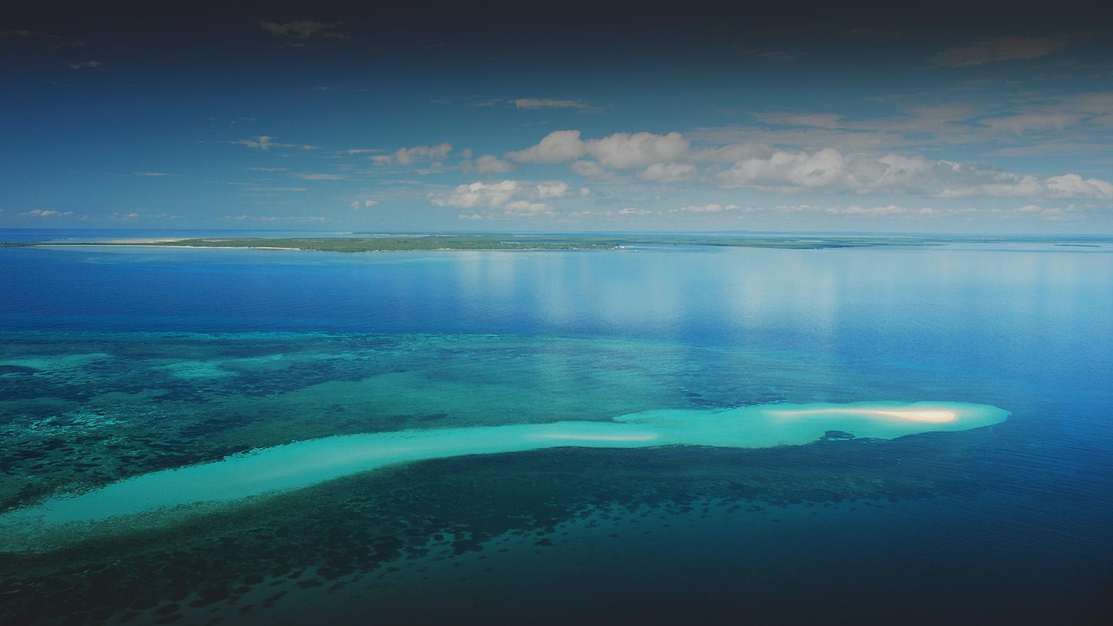 ibo island mozambique-lodges-zambia-in-style-island-quirimbas-archipelago-aerial-sandbank-corals