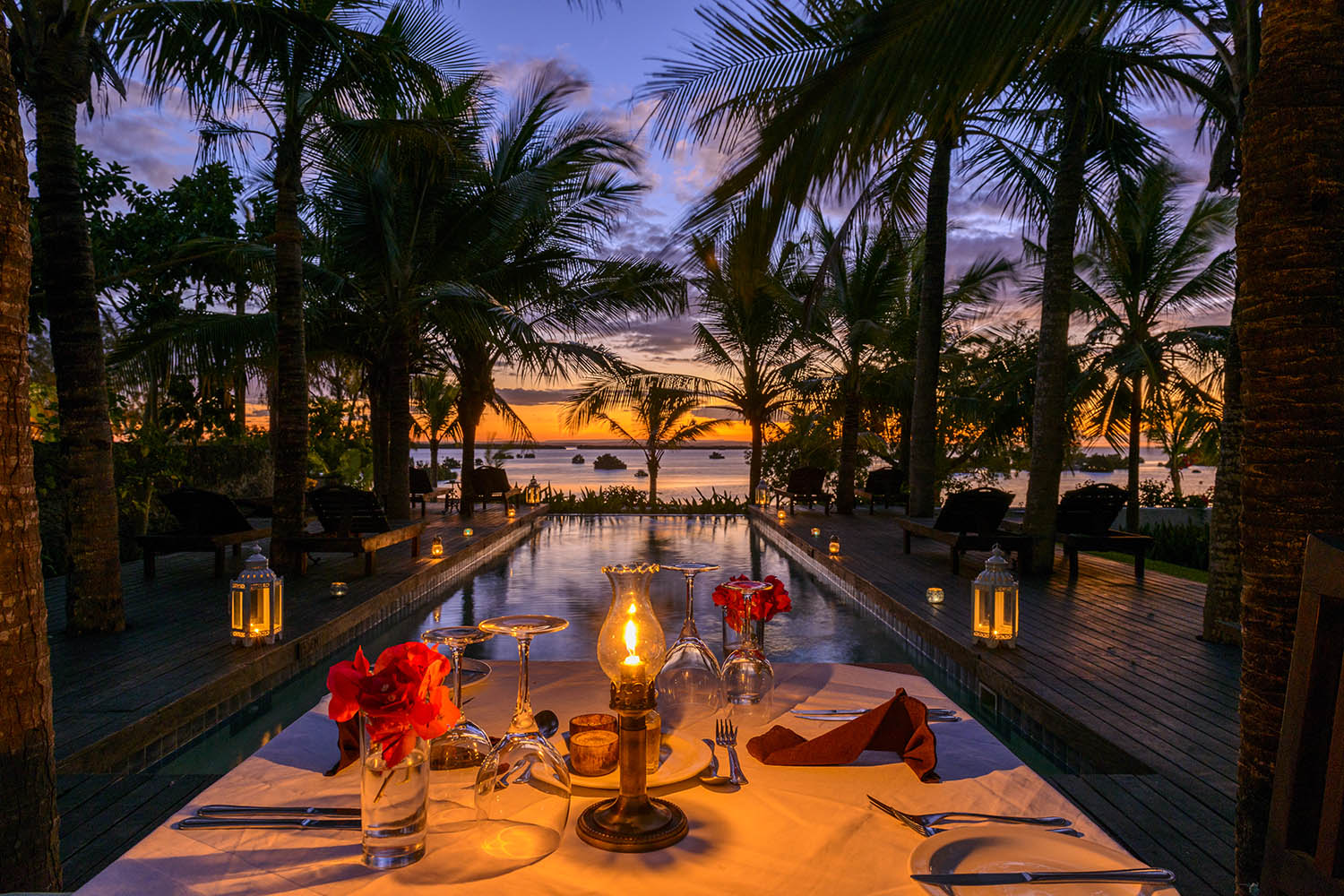 ibo island mozambique-lodges-zambia-in-style-island-quirimbas-archipelago-rooms-pool-dinner-sunset