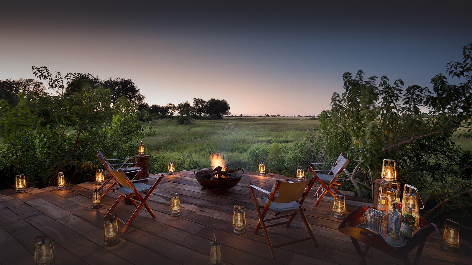 great plains duba plains camp duba-plains-suite-okavango-delta-botswana-lodges-zambia-in-style-luxury-fire-area