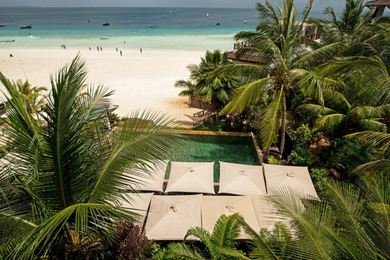 the z hotel tanzania-lodges-north-zanzibar-best-beaches-aerial-views