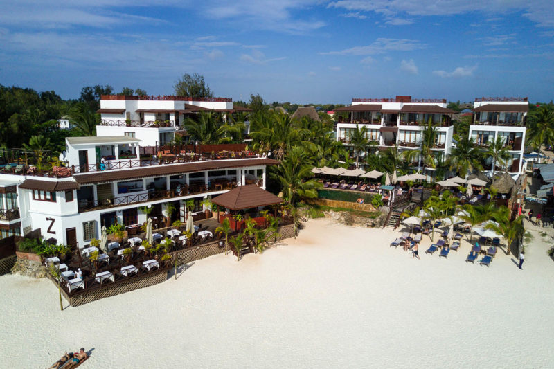 the z hotel tanzania-lodges-north-zanzibar-best-beaches-front-view