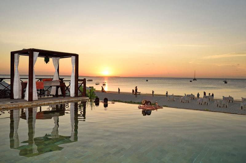 the z hotel tanzania-lodges-zambia-in-style-north-zanzibar-best-beaches-infinity-pool-sunset