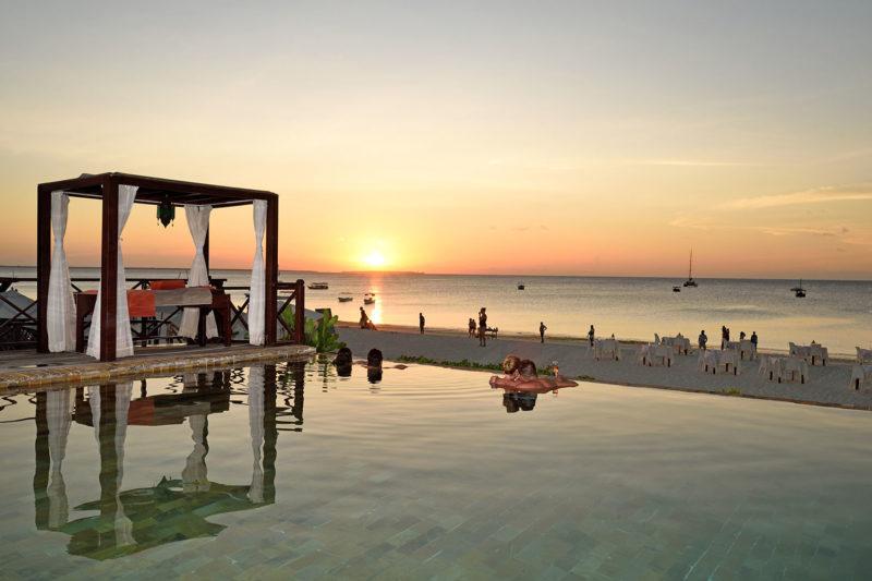 the z hotel tanzania-lodges-zambia-in-style-north-zanzibar-best-beaches-infinity-pool-sunset