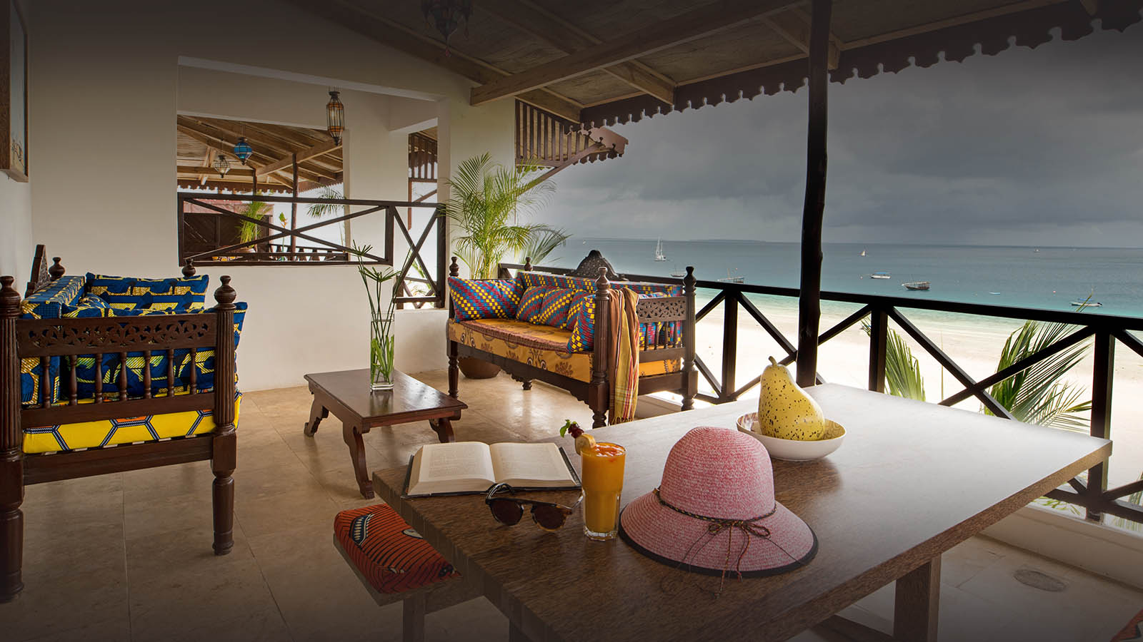 the z hotel tanzania-lodges-zambia-in-style-north-zanzibar-dining-view