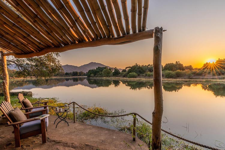 chongwe camp, lower zambezi national park