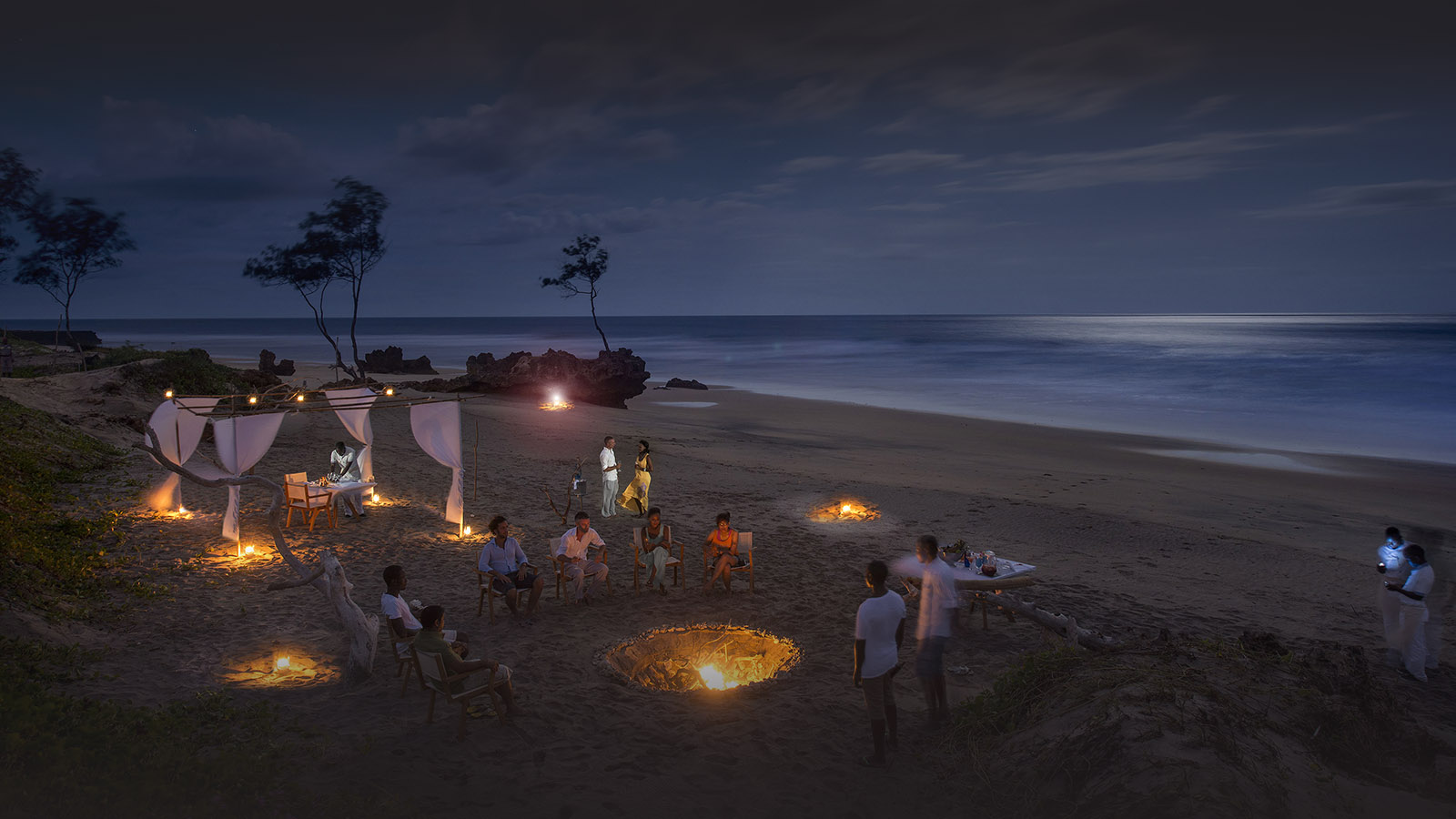 diamonds mequfi beach resort mozambique-lodges-pemba-zambia-in-style-paradise-pristine-beach-camp-fire