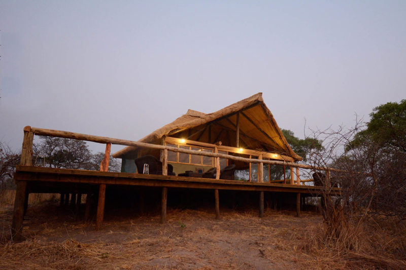 kasonso busanga camp kafue-lodges-zambia-in-style-busanga-plain-kafue-national-park-rustic-luxury-unique-location-exclusive-camp-lodge-exterior