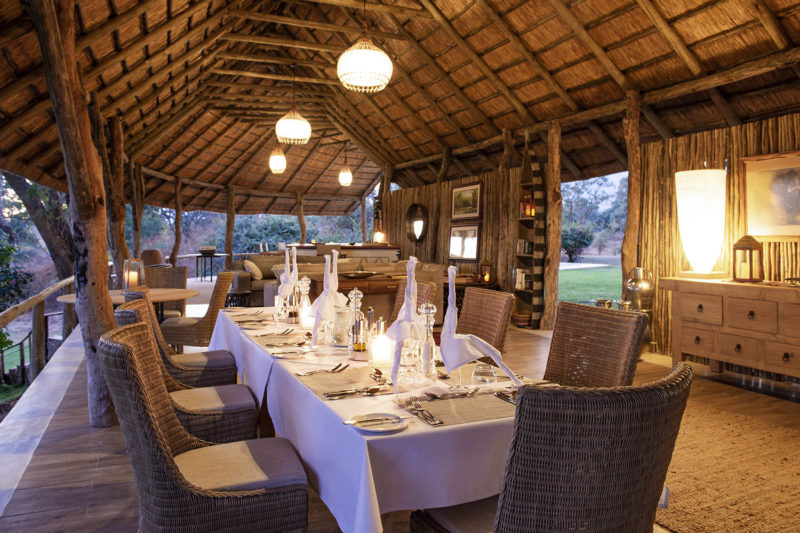 kayila house lodges-zambia-in-style-lower-zambezi-national-park-unique-luxurious-intimate-location-dining
