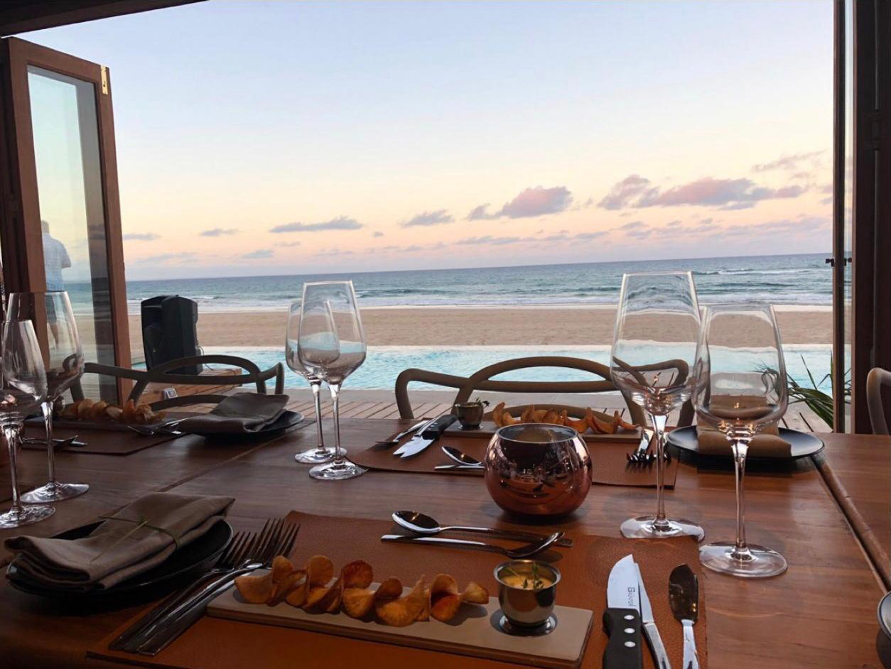 eclectic beach retreat tofo-mozambique-lodges-zambia-in-style-food