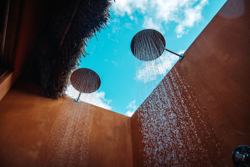 eclectic beach retreat tofo-mozambique-lodges-zambia-in-style-suites-shower
