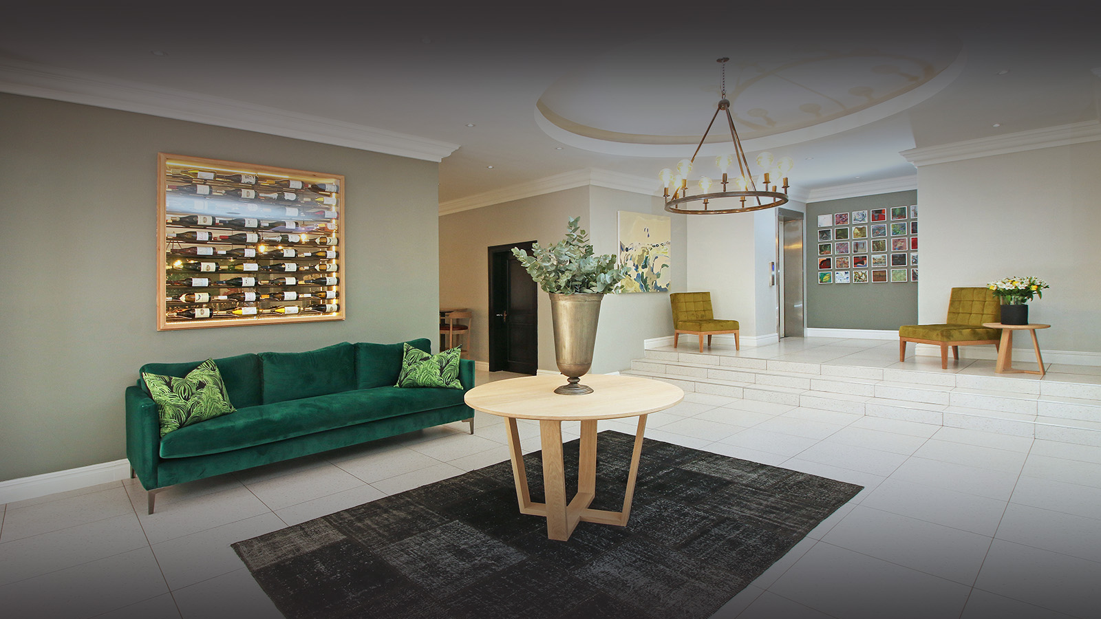 hollow on the square hotel-cape-town-lodges-zambia-in-style-south-africa-family-friendly-stylish-modern-reception-lounge