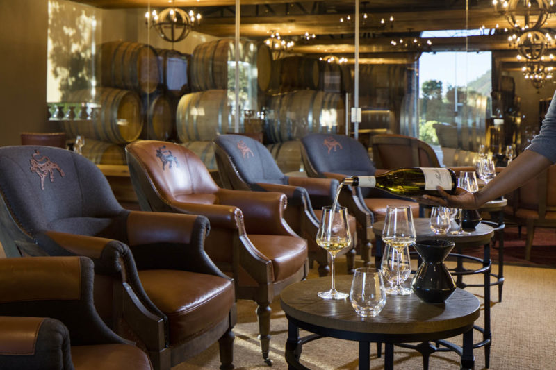 leeu estates franschhoek-cape-town-lodges-zambia-in-style-south-africa-wine-studio-interior