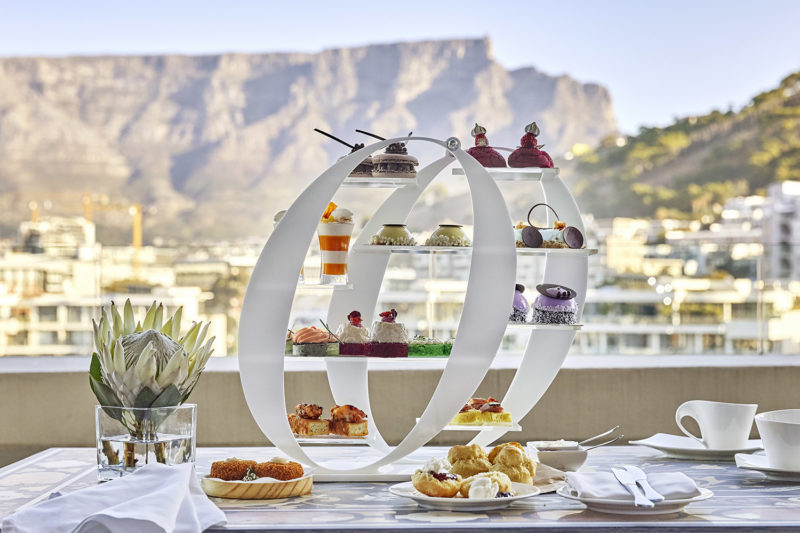 one & only cape-town-lodges-zambia-in-style-south-africa-food-and-drink-tea-experience-stand