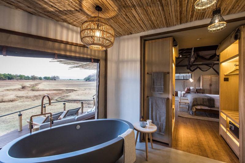 puku ridge lodge-south-luangwa-national-park-lodges-zambia-in-style-luxury-rooms-bedroom-bath