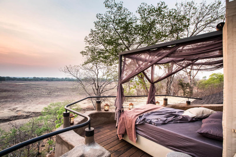 puku ridge lodge-south-luangwa-national-park-lodges-zambia-in-style-panoramic-views-bed-deck