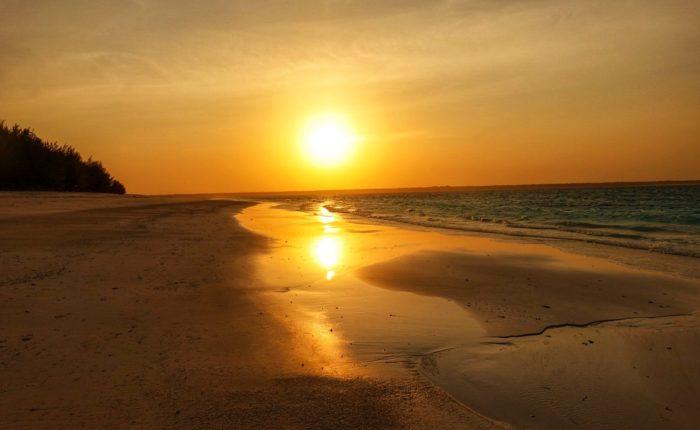 tanzania beach and sunset